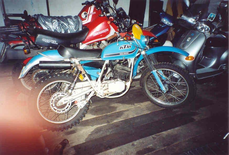 kTM 125 GS 1973