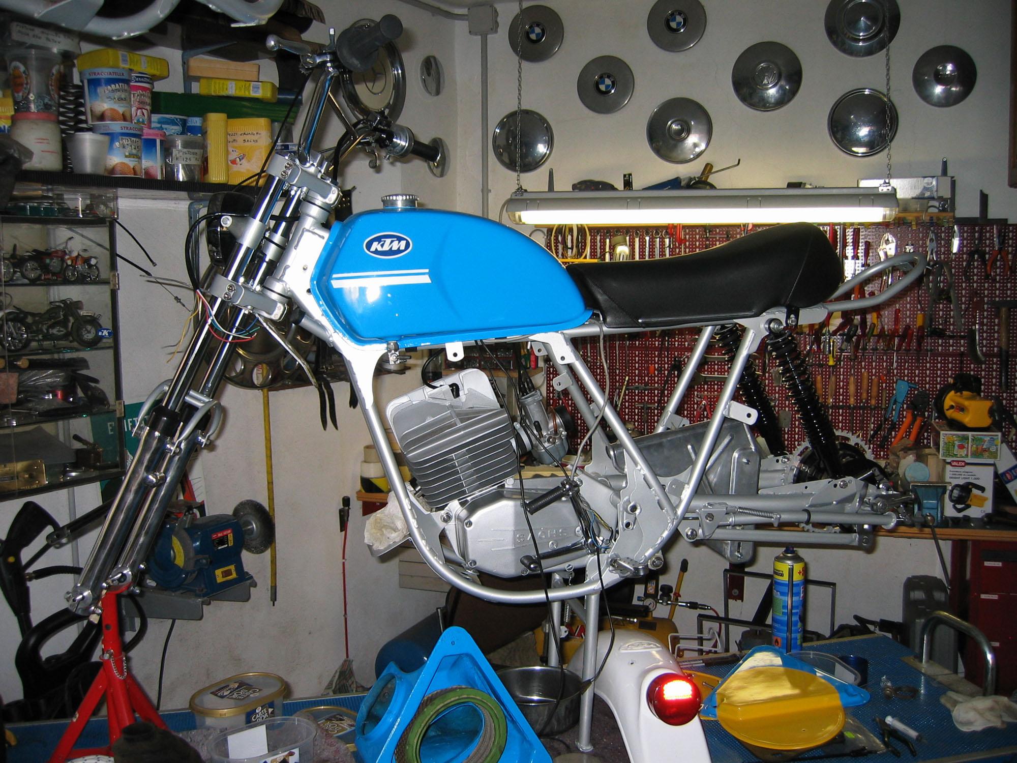 KTM 125GS