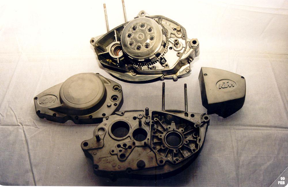 MOTORE KTM 125GS